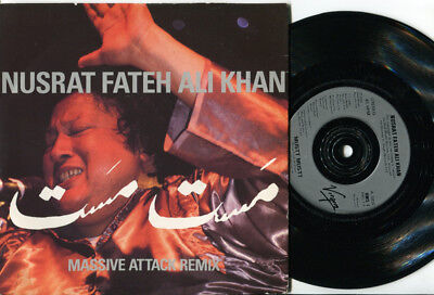NUSRET FATEH ALI KHAN - Mustt Mustt 45 MASSIVE ATTACK remix WORLD MUSIC TRIP HOP