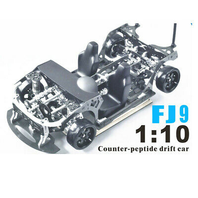 FIJON FJ9 1/10 Front Engine Design RC Car Parts Drift Frame Kit Carbon Fiber
