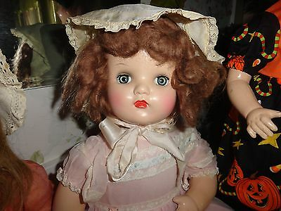 composition doll  22  w/ hard plastic horsman doll head  22
