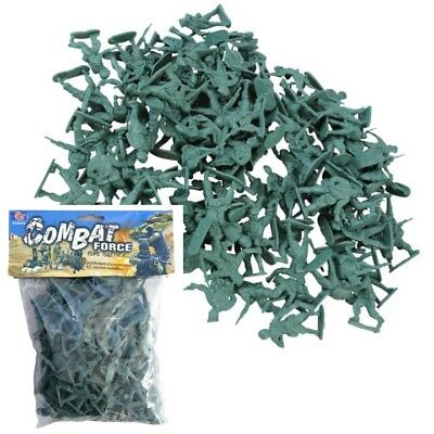 Kids Army Bag Of Toy Soldiers X108 Combat Force Boys Soldier Role Play Elf Prop