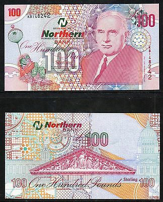 Northern Ireland - LAST EVER - Northern Bank £100 note - 2005 - UNC  - Don Price