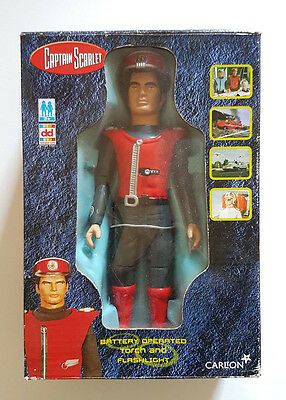 Captain Scarlet Torch and Flashlight