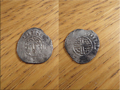 Henry III Voided Short Cross Penny Canterbury Mint c1216-72 Silver Hammered Coin