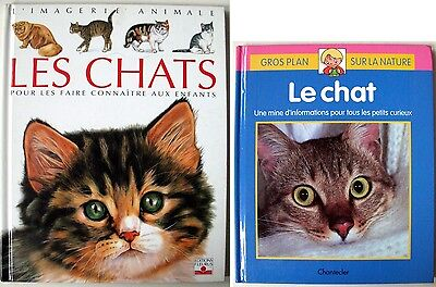 Les Chats : Lot de 2 albums