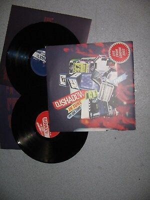 """DJ Shadow - In Tune And On Time - 2 X 12"""" LP - MINT"""