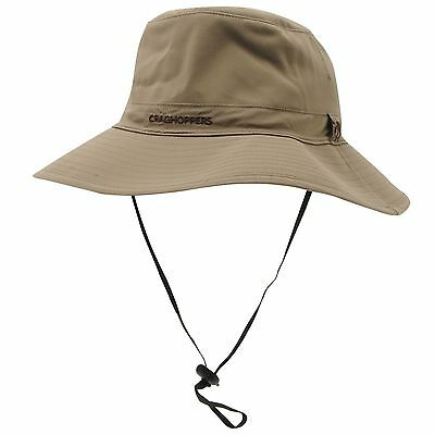 Craghoppers Men's Nosilife Outback Travel Hat - Pebble