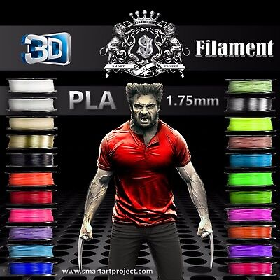 3D Printer Filament 1.75mm - net 1 Kg  PLA-29 Colours Fast Dispatch from London