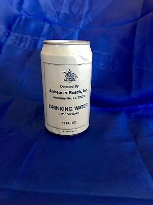 Vintage Anheuser-Busch Hurricane Andrew water 1992~ unopened Can