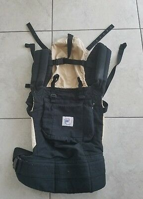 Authentic ERGO Baby Carrier Black Sun Shade 7 to 12 LBS