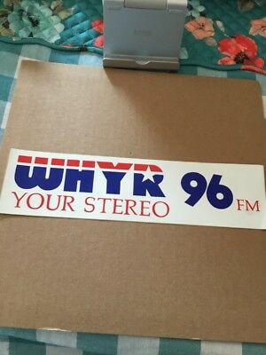 """""""Your Stereo"""" WHYR-New Orleans, LA. """"Your Stereo 96"""" Bumpersticker"""