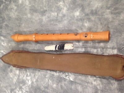Beautiful  Roessler Alto / Treble  Recorder,  Baroque, Pearwood