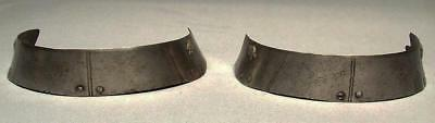 Antique 16th Century Medieval  Armor 2 Lames For Knight with sword