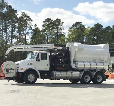 2001 Vactor vaccon sewer cleaner vacuum jetter pd blower vac truck work ready