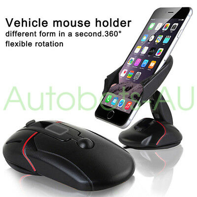 Universal Car 360° Windshield Mount Holder Stand For iPhone & Android Phone GPS