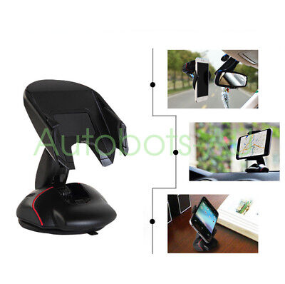 Silicone chuck suction Universal Car 360° Windshield Mount Holder high quality