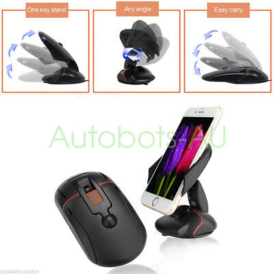 Universal Extendable Car 360° Windshield Mount Holder Stand Android Phone GPS