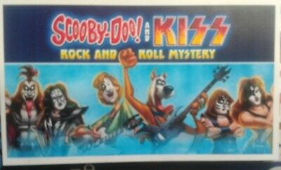 KISS & Scooby Doo Fridge- Magnet 5.5X3.3 -- KISS KRUISE-WORLDWIDE S&H