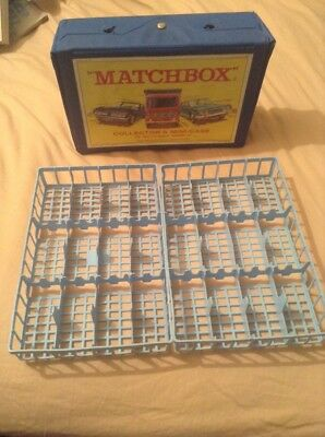 Matchbox/Lesney collectors mini case with trays