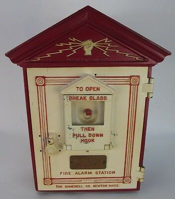 Vintage GAMEWELL Co. HERCULITE Fire Alarm Station