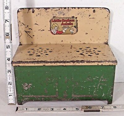 LITTLE ORPHAN ANNIE COMIC CHARACTER 1930s CHILD'S TOY PLAY STOVE
