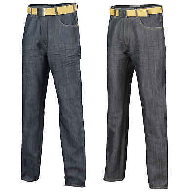 Mens Creon Previs Jeans Smart Casual Straight Comfort Fit Regular Leg