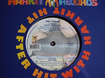 Mel Torme - Comin' Home Baby - Dat Dere - Mint New 45 Northern Soul