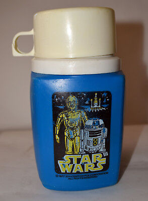 Vintage 1977 Star Wars Thermos From Metal Lunchbox