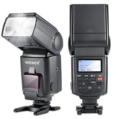 Neewer NW680/TT680 Flash Speedlite E TTL pour Canon 5D MARK 2 6D 7D 70D 60D 50D