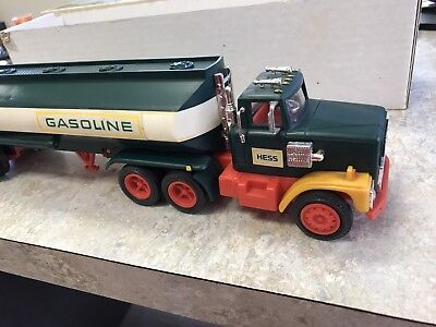Vintage Hess Fuel Oils Toy Truck Collectible