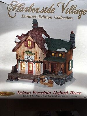 Harborside Village Limited Edition 2001 Collection Baileys Bait And Tackle