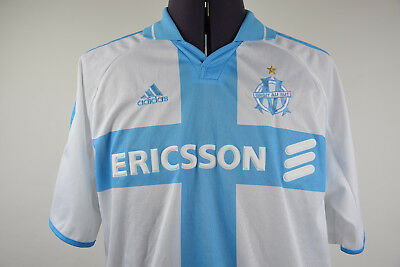 Maillot Olympique Marseille 2000 / 2001 Home Jersey Shirt