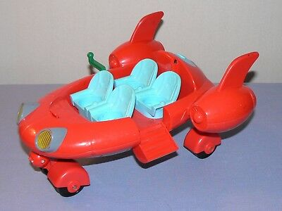 Little Einsteins Pat Pat rocket ship red lights sounds works no lid top cover