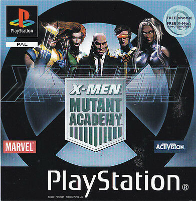 X-Men Mutant Academy -   **Front Insert Only PS1**