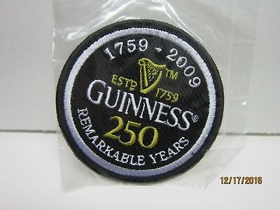 """3""""  Guinness Iron On Patch"""