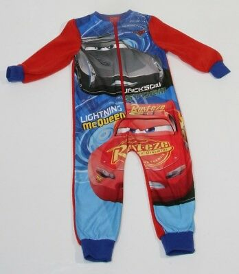 Cars Fleece Overall Hausanzug rot Disney Jungen Kinder 86,92,98,104