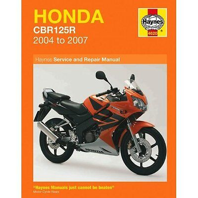 Haynes Honda Cbr125R 2004-2007 Haynes Service Manual Workshop & Repair Manual