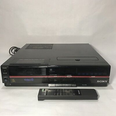 Sony EV-A80 8mm video8 heavy duty VCR