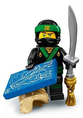 LEGO Ninjago Movie Fig 71019: #3 Lloyd, The Green Ninja, new in sealed bag