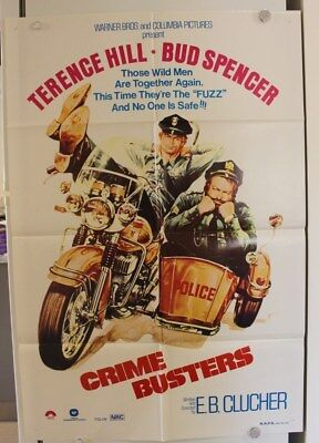 Crime Busters - Original Movie Poster