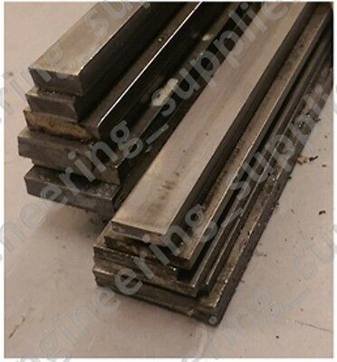 10, 12, 16, 20, 25mm Wide 3, 5, 6, 10mm Thick EN3B Flat Bright Mild Steel Bar