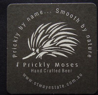 Prickly Moses Hand Crafted Beer Otway Estate Coaster (B306)