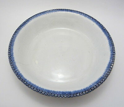 Leeds Pearlware Feather Edge Large Bowl / Basin