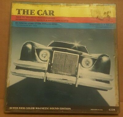 Super 8mm Sound Film: THE CAR (1977) 400 ft. Digest - HORROR MYSTERY