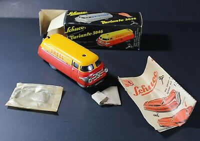 JC&C - Vintage Schuco Varianto 3046 Shell Tanker - Mint With Box & Papers