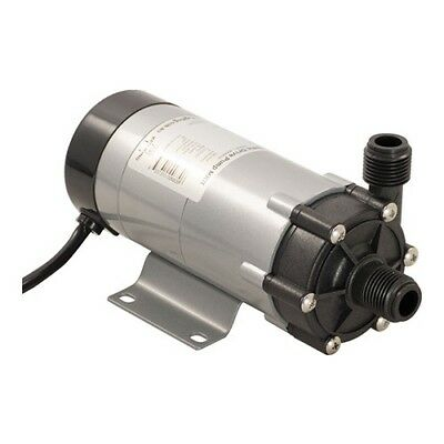 """Food Grade High Temperature Magnetic Drive Pump with 1/2"""" BSP Home Brew"""