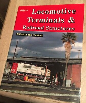 LOCOMOTIVE TERMINALS & RAILROAD STRUCTURES (Out of Print, NEW BOOK)