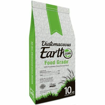 Diatomaceous Earth Food Grade 10 Lb Safe Natural Organic Garden Outdoor Healthy