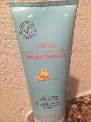 Jafra Tender Moments Softening baby massage cream 6.7 FL OZ