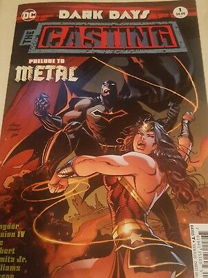 DC comics dark days the casting #1 prelude to metal