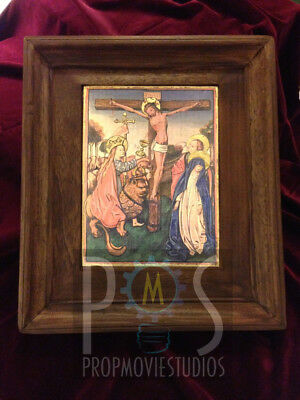Crucifixion Painting by Sarednab - Indiana Jones Prop Replica 100% Accurate